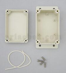 نمای داخلی جعبه گوشواره دار رومیزی ضدآب ABW202-A1M