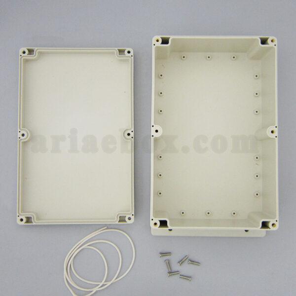 نمای داخلی جعبه ضدآب تغذیه تجهیزات الکترونیکی ABW213-A1M
