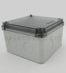 نمای سه بعدی جعبه تقسیم ضدآب شفاف الکترونیکی AGT 11-11 T