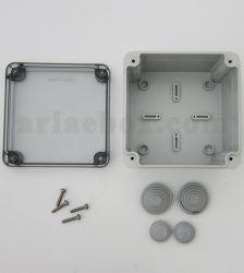 نمای داخلی جعبه تقسیم ضدآب شفاف الکترونیکی AGT 11-11 T
