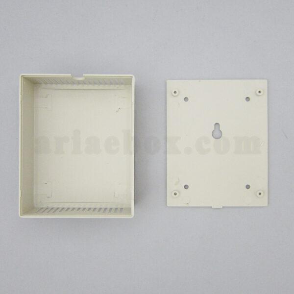 نمای باز جعبه دیواری شیاردار تجهیزات برق abm112-a1