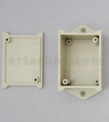 نمای داخلی جعبه دیواری کوچک اتصالات برق ABM117-A1