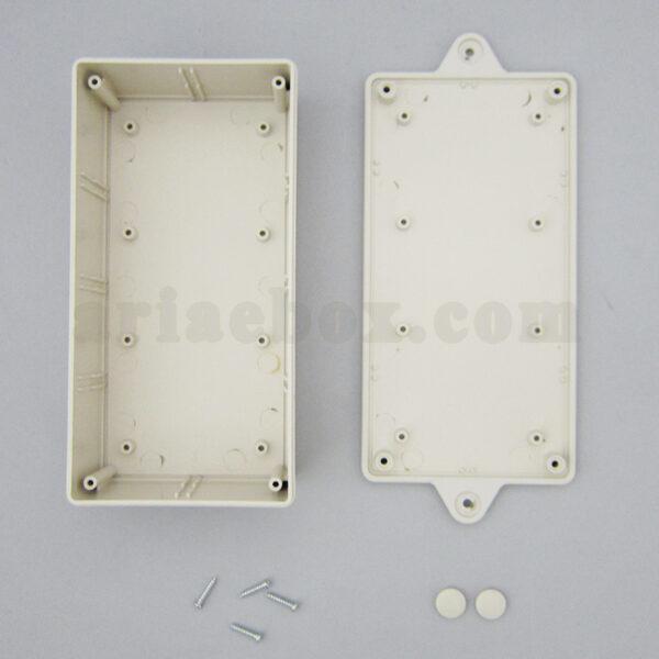 نمای باز جعبه دیواری منبع تغذیه الکترونیکی abm109-a1