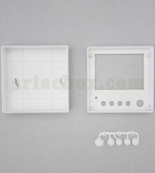 نمای داخلی جعبه دیواری کنترل کننده سوئیچ abm113-a1
