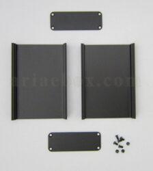 نمای باز جعبه آلومینیومی کنترلر ابزار دقیق ABL405-A2
