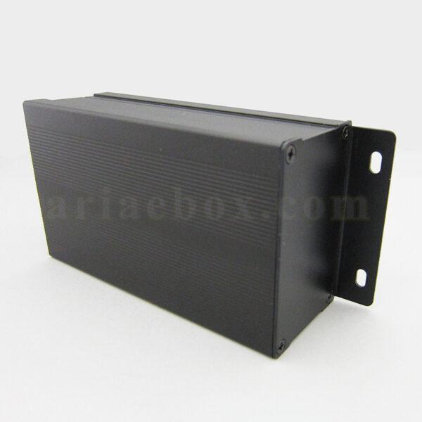 نمای سه بعدی جعبه آلومینیومی قطعات الکترونیکی ABL407-A2M
