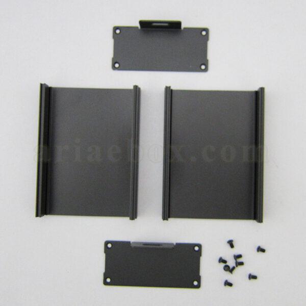 نمای باز جعبه آلومینیومی دیواری تقویت کننده ABL410-A2M