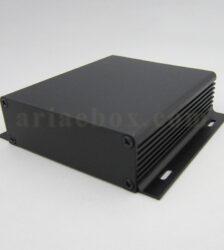 نمای سه بعدی جعبه آلومینیومی باتری الکترونیکی ABL420-A2M