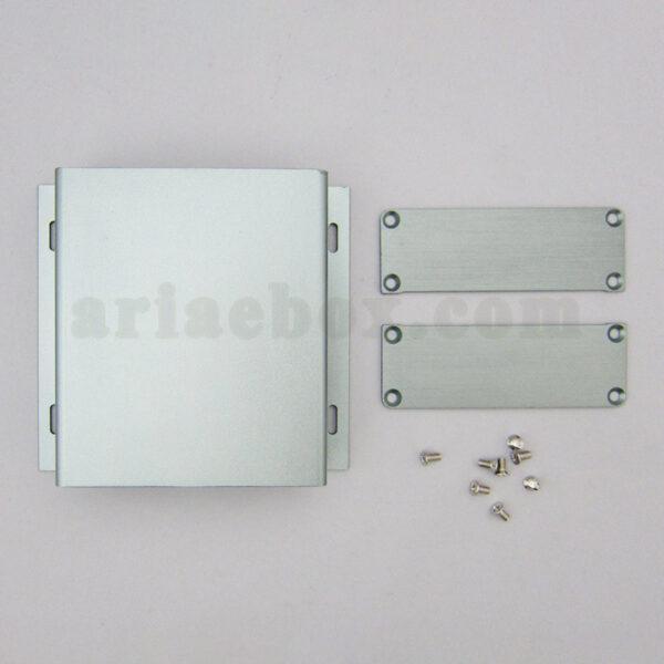 نمای باز جعبه دیواری آلومینیومی باتری الکترونیکی ABL420-A1M