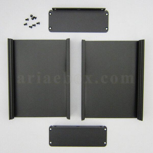 نمای باز جعبه آلومینیومی کنترلر الکترونیکی ABL426-A2M
