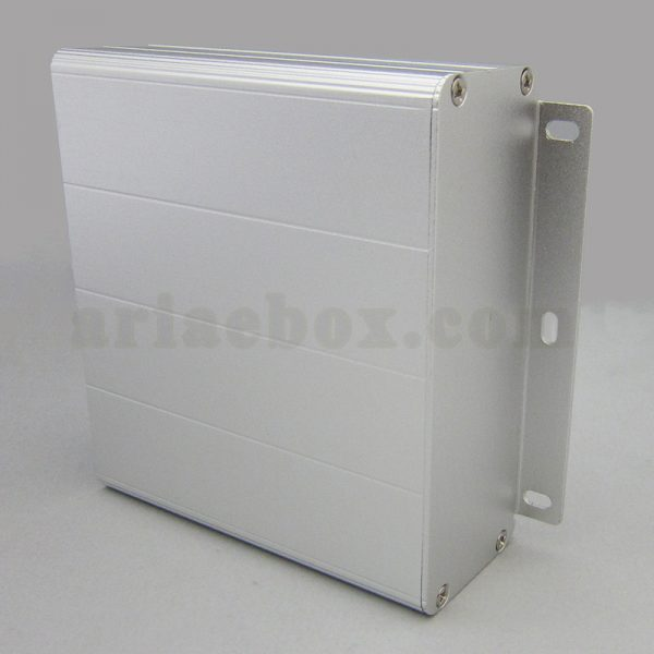 نمای سه بعدی جعبه آلومینیومی ابزارآلات الکترونیکی ABL425-A1M