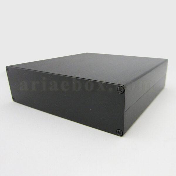 نمای سه بعدی جعبه آلومینیومی ابزار الکترونیکی abl437-a2