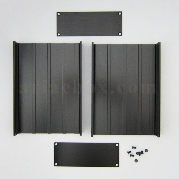 نمای باز جعبه اکسترود آلومینیومی برق ABL430-A2