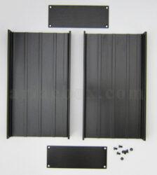 نمای باز جعبه تجهیزات اکسترود آلومینیومی abl431-a2