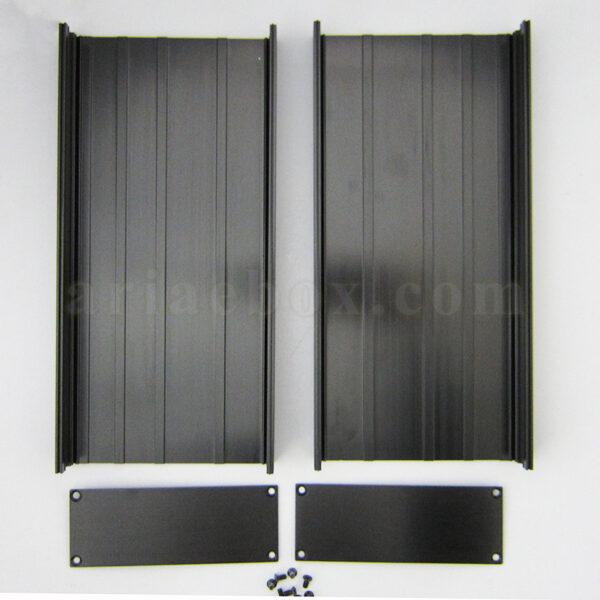 نمای باز جعبه پروفیل اکسترود آلومینیومی برق ABL433-A2