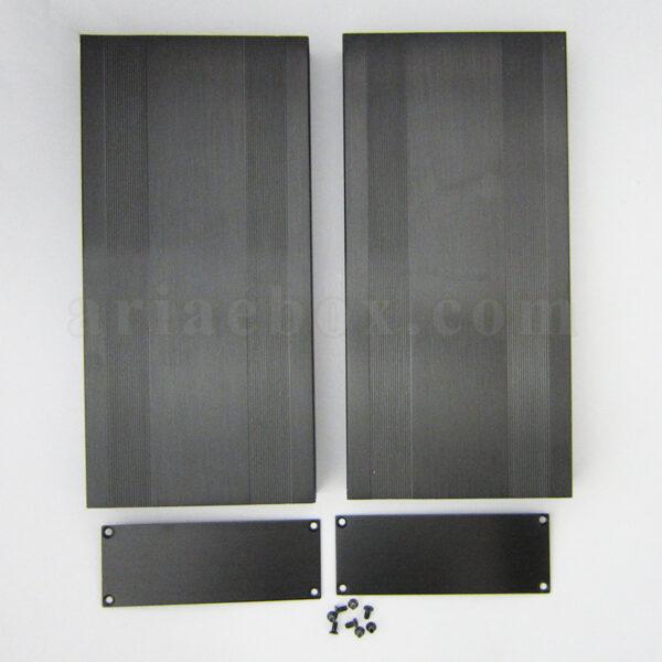 نمای بیرونی جعبه پروفیل اکسترود آلومینیومی برق ABL433-A2