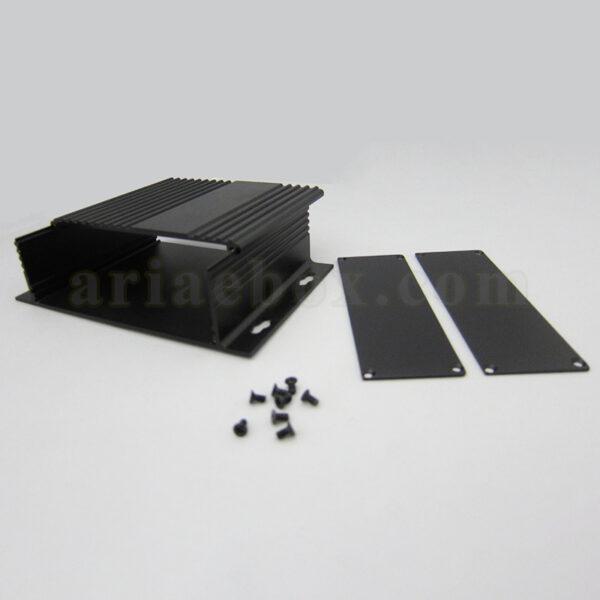 نمای داخلی جعبه آلومینیومی منبع تغذیه ABL434-A2M