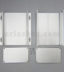 نمای باز جعبه آلومینیومی اتصالات ابزاردقیق ABL439-A1M/L155