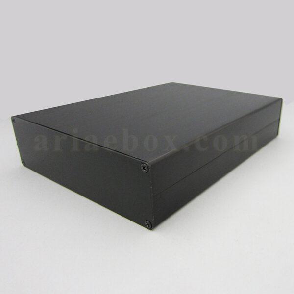 نمای سه بعدی جعبه رومیزی آلومینیومی تجهیزات ابزاردقیق ABL438-A2