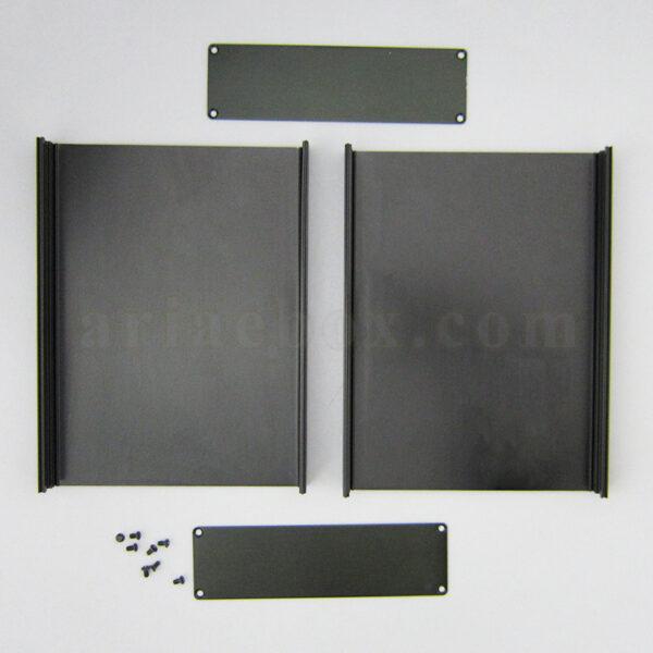 نمای باز جعبه رومیزی آلومینیومی تجهیزات ابزاردقیق ABL438-A2
