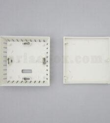 نمای داخلی جعبه دیواری سنسور دما و رطوبت ABM126-A1
