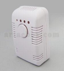نمای سه بعدی جعبه دیواری تشخیص و هشدار گاز abm132-a1