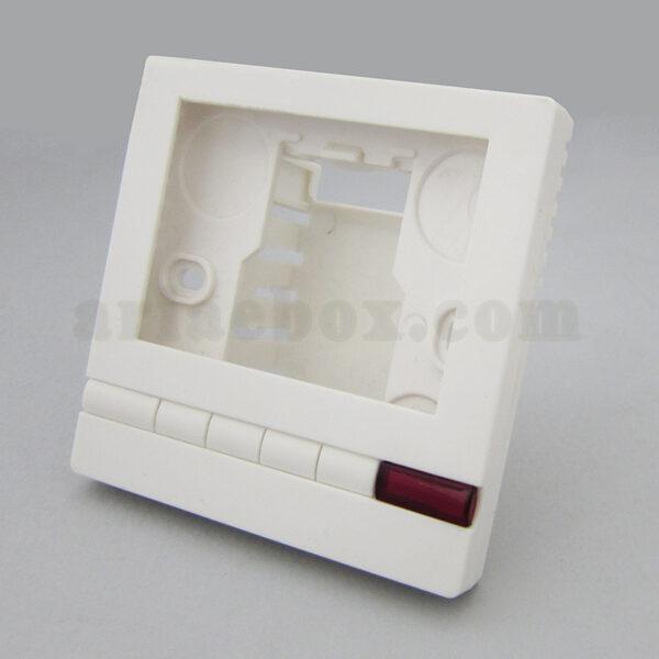 نمای سه بعدی جعبه دیواری ترموستات و رگولاتور abm136-a1
