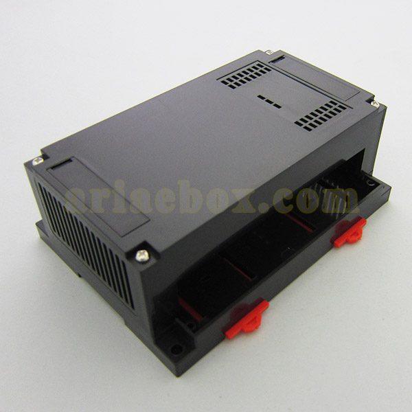 نمای سه بعدی باکس پلاستیکی ریلی کنترل صنعتی ABR101-A2