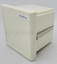 جعبه پلاستیکی الکترونیک صنعتی دیجیتال پنل مدل 9672 White