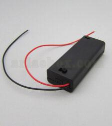 جا باتری نیم قلم 2 تایی مدل 2AAA