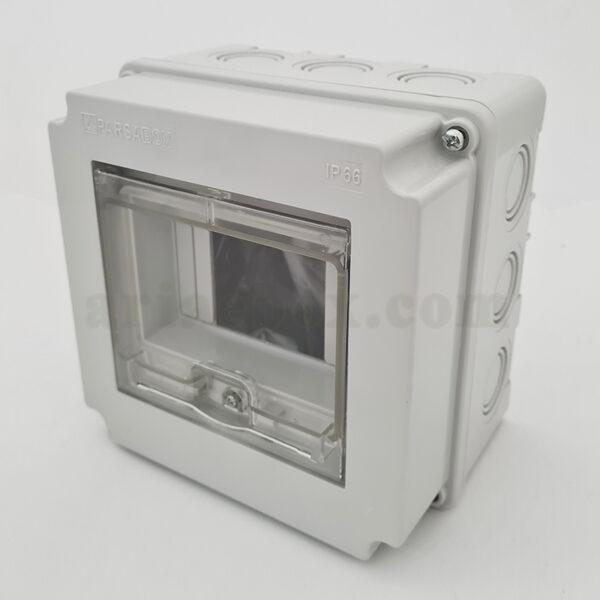جعبه برق ضدآب الکترونیکی AGT 16165 با ابعاد 103×160×160