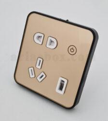 پریز وای فای 10 آمپر هوشمند S- Socket2-A2 با ابعاد 40×90×86