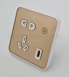 پریز وای فای هوشمند S- Socket2-A1 با ابعاد 40×90×86